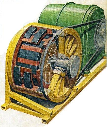 Howard Johnson's permanent Magnet Motor