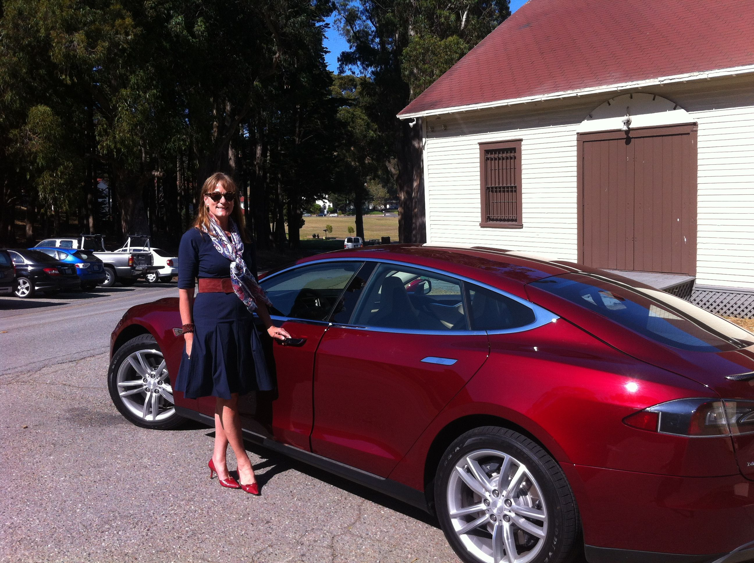 TESLA Model S and SP90D