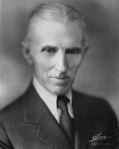Why was Nikola Tesla discredited of all his achievements?