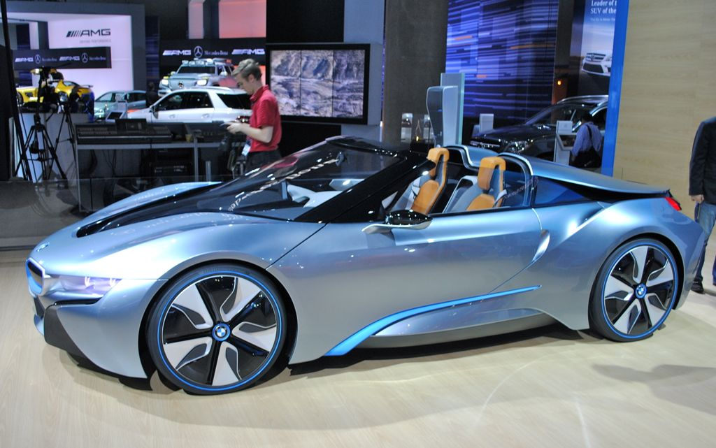 Bmw I8 Hybrid Electric In Production