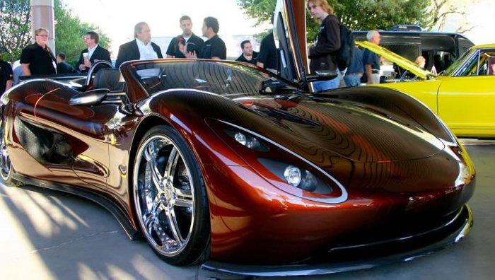 Ronn Motors Scorpion Hho Super Sportscar