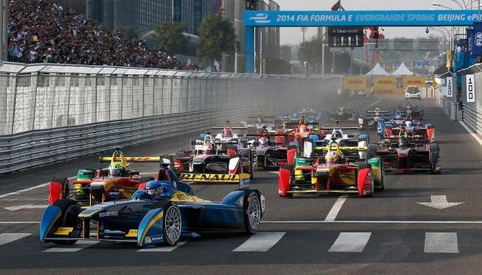 Formula E Racing Electric